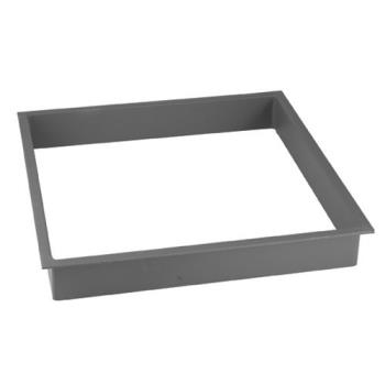 "23306 - FMP - 124-1229 - 21 3/4"" x 21 3/4"" Ice Cream Cabinet Collar Product Image"