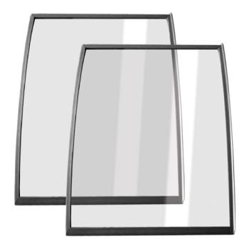 MTFC010784 - Metalfrio - C010784 - Curved Glass Lid - Set of 2 Product Image
