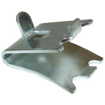 23202 - Commercial - Plated Steel Shelf Clip w/ Tab Product Image