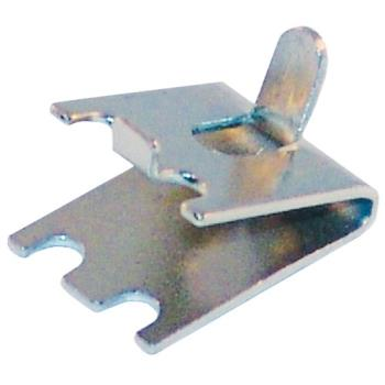 23203 - Commercial - Stainless Steel Shelf Clip w/ Tab Product Image