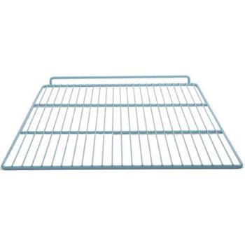 "23117 - Commercial - 21"" x 26"" Gray Epoxy Wire Refrigerator Shelf Product Image"