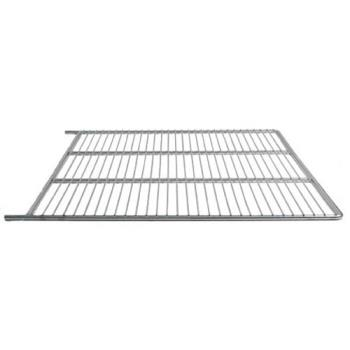 "23110 - Traulsen - 340-26000-00 - 24 1/2"" x 26 1/2"" Plated Wire Refrigerator Shelf Product Image"