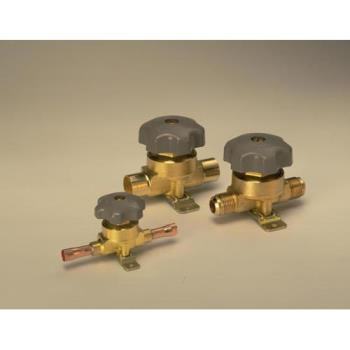 "881106 - Commercial - 1/2"" Solder Straightway Shut Off Valve Product Image"