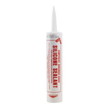 36507 - CHG - M90-1018 - Red High Temperature Food Grade Silicone Caulk Product Image