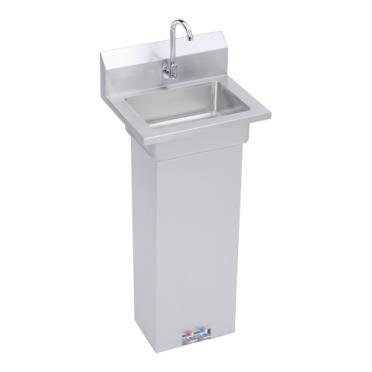 18 Pedestal Sink : SKU: ELKEHS18PEDX Plumbing / Sinks / Hand Sinks / Pedestal Hand Sinks