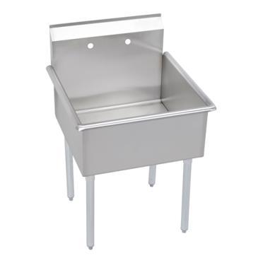 18 Inch Utility Sink : ... : ELKB1C18X18X Plumbing / Sinks / Kitchen Sinks / 1 Compartment Sinks