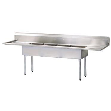 ... : TURTSA414D2 Plumbing / Sinks / Kitchen Sinks / 4 Compartment Sinks