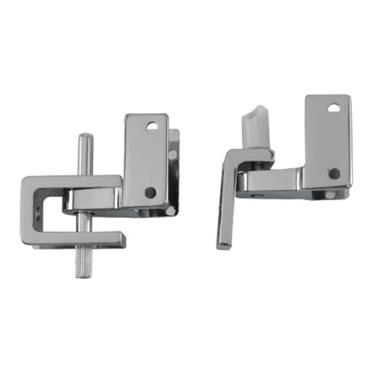 Commercial universal self closing partition hinge set for Commercial bathroom partition doors
