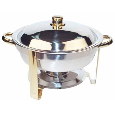 Winco 203 malibu 4 qt chafing dish etundra for Dining room equipment