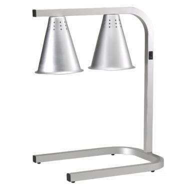 Adcraft Hl 2 Freestanding Two Bulb Heat Lamp Etundra