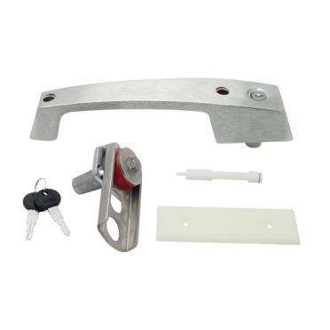 Kason 11229c00024 1229c Brushed Chrome Pull Handle