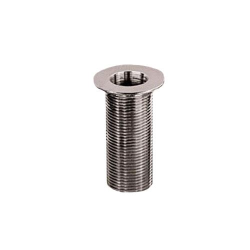 1 x 1 12 in Nickel Plated Sink Drain