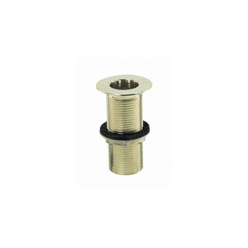 1 in x 4 in Plated Drain