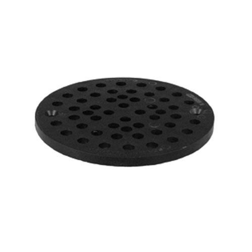 "Commercial Kitchen Floor Drains: Commercial - 6 3/4"" Round PVC Floor Drain Strainer"