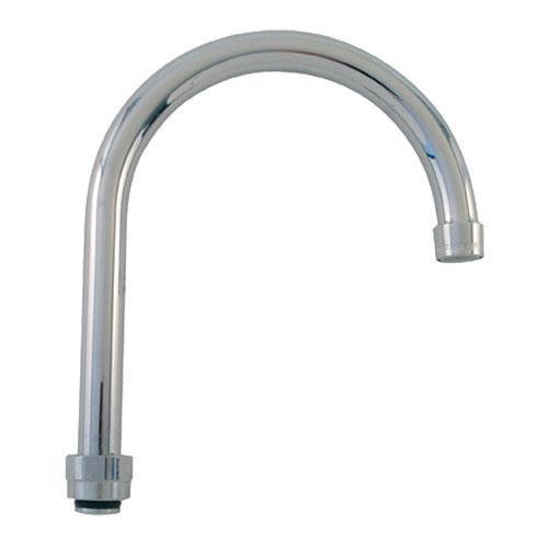 Commercial Gooseneck Faucet : Plumbing Faucet Parts Spouts