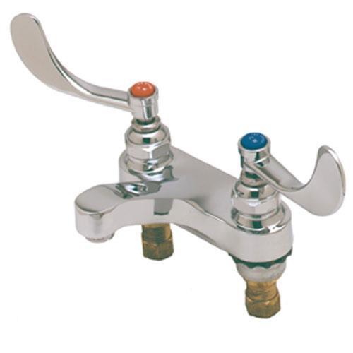 T&S Brass - B-0890 - 4 in Heavy Duty Restroom Faucet | eTundra