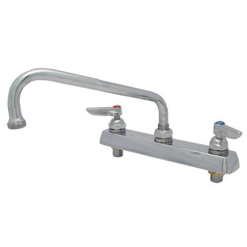 T Amp S Brass B 1121 8 In Deck Mount Faucet W 8 In Spout