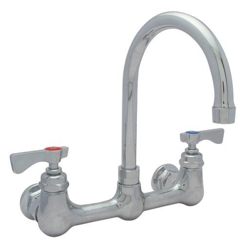 ... Mount Faucet w/ 8 in Centers & Swivel Gooseneck Spout Product Image