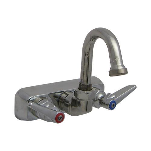 T Amp S Brass B 1146 01 4 In Wall Mount Workboard Faucet