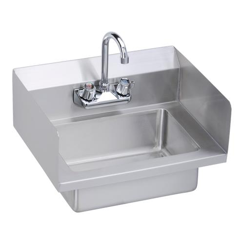 Hand Sink Commercial : ... -18-SSX - 18 x 14 1/2 in Hand Sink With Left And Right Side Splashes
