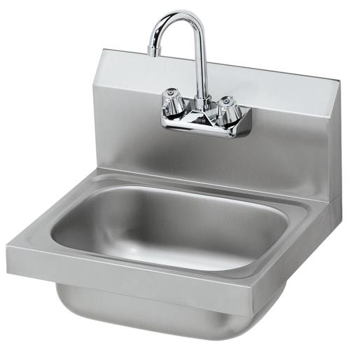 Krowne Hs 2l 16 In Wall Mount Hand Sink W Gooseneck