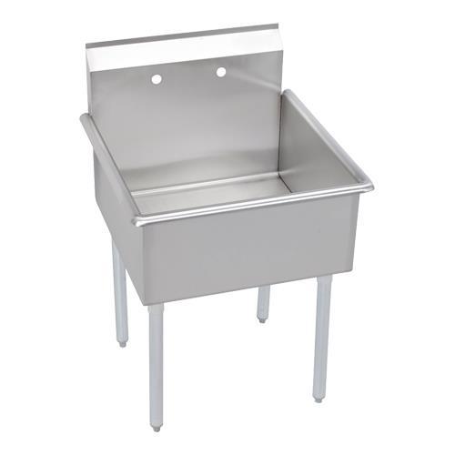 Elkay B1c24x24x 27 1 2 In X 27 In 1 Compartment Sink