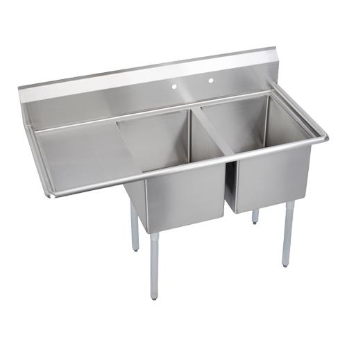 2 Compartment Sink : 12