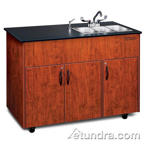 Advantage Series Triple Stainless/Laminate/Cherry Portable Hand Sink at Discount Sku ADAVC-LM-SS3N OZRADAVCLMSS3N