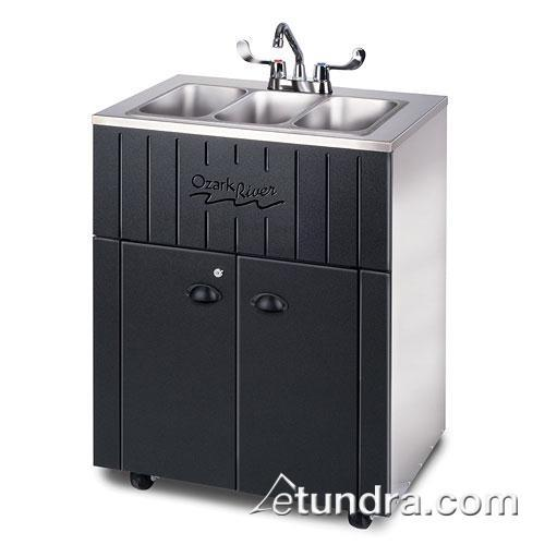 Nature Series Triple All Stainless Portable Hand Sink at Discount Sku NSSSK-SS-SS3N OZRNSSSKSSSS3N