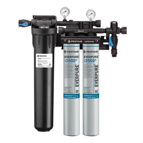 Everpure ev932422 insurice twin pf filtration system for Pentair water filters