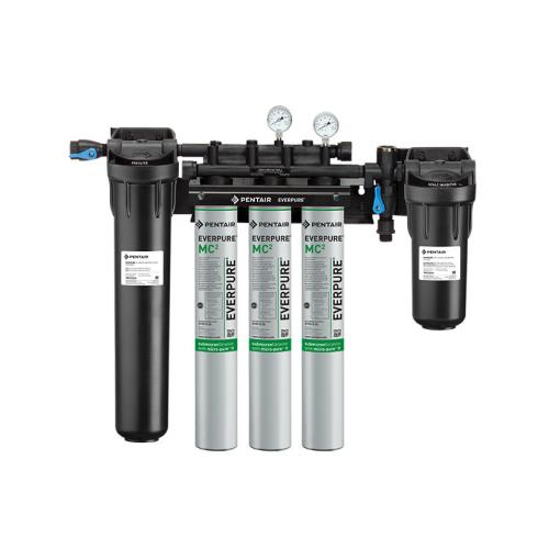 Everpure ev932806 high flow triple filtration system for Everpure water treatment system