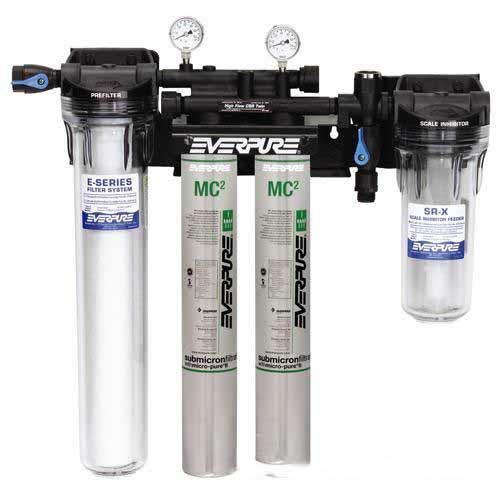 Everpure ev933042 high flow twin filtration system for Everpure water treatment system
