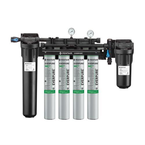 Everpure ev943710 high flow quad filtration system for Everpure water filtration system