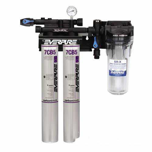 Everpure ev979722 kleensteam ii twin filtration system for Everpure filter system