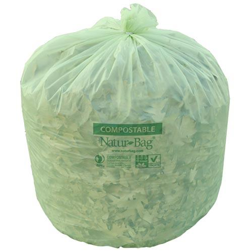 Natur Bag Nt1025 X 00010 13 Gal Compostable Liners
