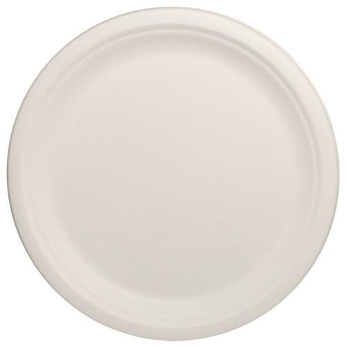 10 in Round Bagasse Plates