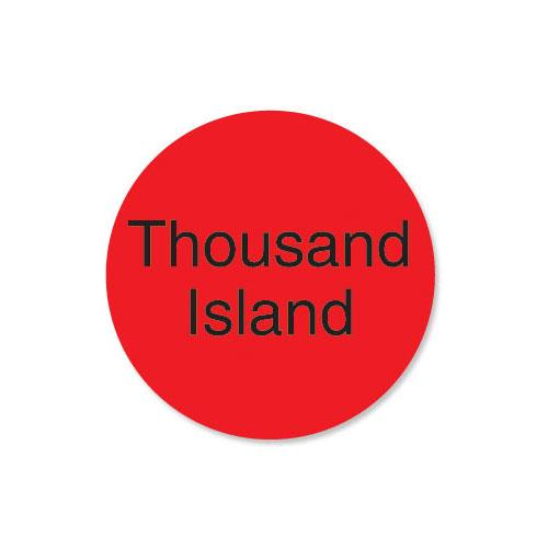 DuraMark 1 in Round Thousand Island Label at Discount Sku 112014 DAY112014