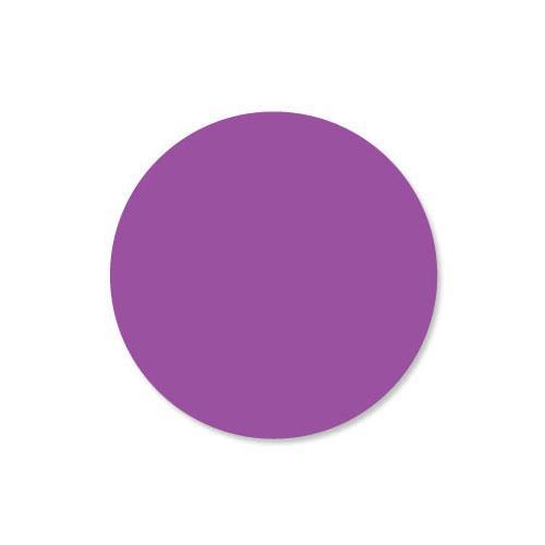 DuraMark 1 in Round Purple Label at Discount Sku 112314 DAY112314