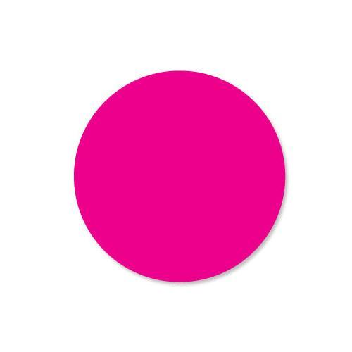 DuraMark 1 in Round Pink Label at Discount Sku 112327 DAY112327