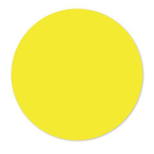 DayMark - 112415 - MoveMark 3 In Round Yellow Label