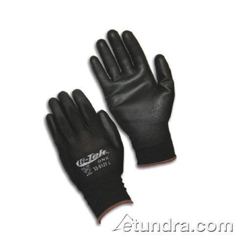 Pip 33 B125 Xl G Tek Black Urethane Coated Gloves Xl