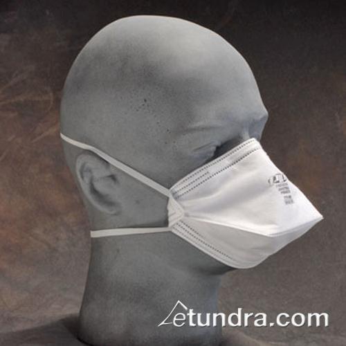 Disposable White Flat Respirator Mask