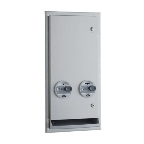 ClassicSeries Recessed 25 Cent Napkin/Tampon Dispenser at Discount Sku B-3706 25 BOBB370625