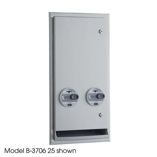 ClassicSeries Recessed 50 Cent Napkin/Tampon Dispenser at Discount Sku B-3706 50 BOBB370650