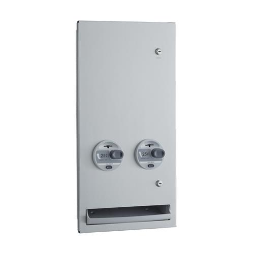 TrimLineSeries Recessed 25 Cent Napkin/Tampon Dispenser at Discount Sku B-37063 25 BOBB3706325