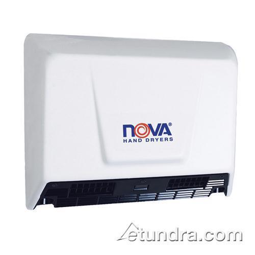 Nova 2 Steel White Hand Dryer at Discount Sku 930 WDD0930