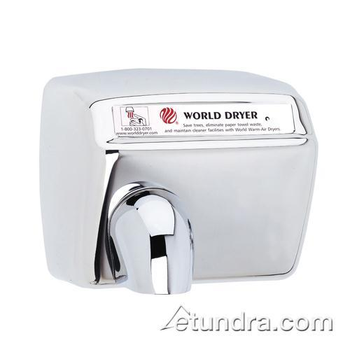 Model A 120V Polished Stainless 20A Hand Dryer at Discount Sku DXA5-972 WDDDXA5972