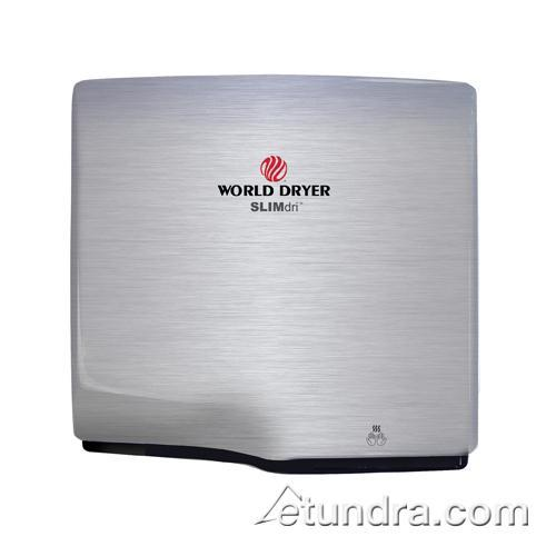SLIMdri Brushed Stainless Hand Dryer at Discount Sku L-973 WDDL973