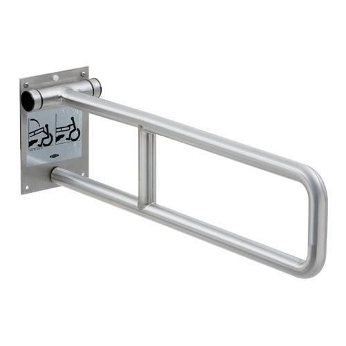 Bobrick - B-4998.99 - Swing-Up Peened Stainless Steel Grab B