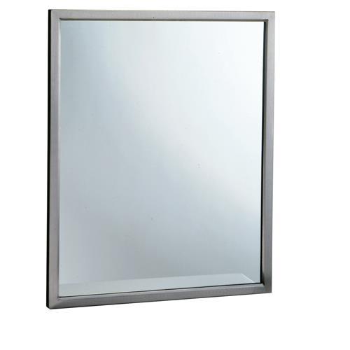 Bobrick B 290 2430 24 In X 30 In Welded Frame Mirror